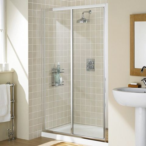 Lakes 1100mm Slider Shower Door
